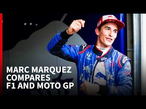Marc Marquez compares F1 and MotoGP