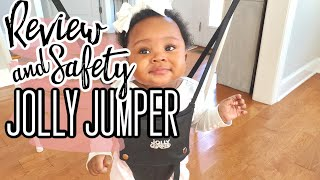 Watch This Before Buying Jolly Jumper | First Impression Review and Safety Tips | Sherunda Simone