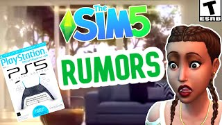 SIMS 5 ON CONSOLE; ONLINE LEAK & RUMORS