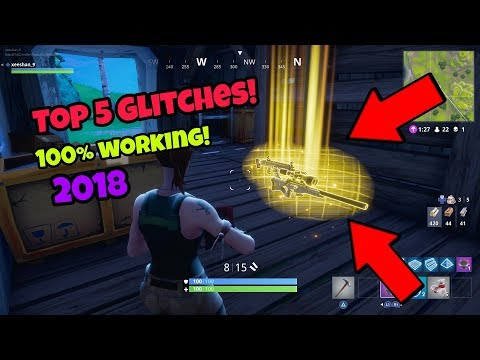 Fortnite battle Royale glitches (Top 5 new) become invincible PS4/Xbox one 2018