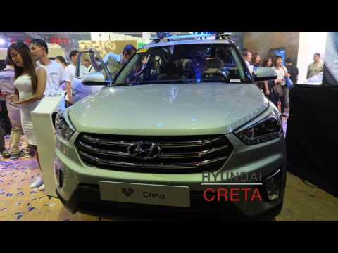 Hyundai Creta SUV, Genesis G90 Luxury Sedan Launched at MIAS 2017