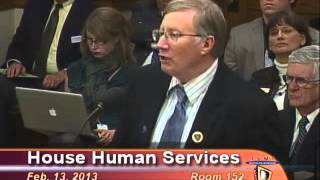 HB 340 - 343 February 13 2013 House Human Services Committee Hearing I
