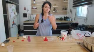 איך לצור דמות בבצק סוכר (הלו קיטי)