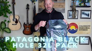 Patagonia Black Hole 32L Pack Review - 100% Recycled Do-it-all Pack