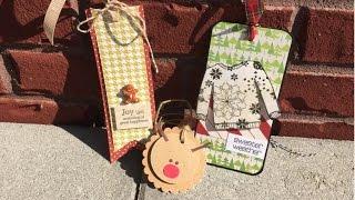 3 Christmas Tag Tutorials