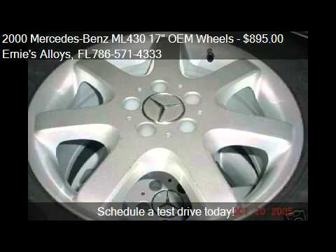"2000 Mercedes-Benz ML430 17"" OEM Wheels - for sale in Miami Fl 33054"