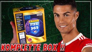 Komplettes FIFA 365 2022 STICKER Display (36 Tüten) Unboxing [deutsch]