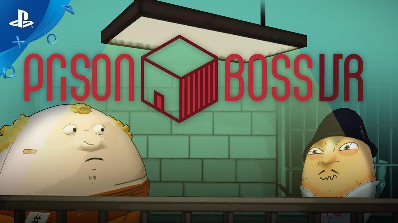 Planeje Sua Fuga em Prison Boss VR, Disponível Amanhã para PS VR