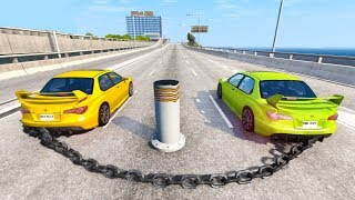 Satisfying Car Crashes Compilation #6 Beamng Drive (Car Shredding Experiment)