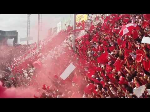 """""""San Martin 2 - 1 Guarani - Recibimiento Octavos"""" Barra: La Banda del Camion • Club: San Martín de Tucumán"""