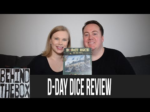 D-Day Dice Demo Review - Behind the Box