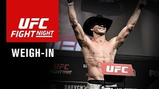 UFC Fight Night Gdansk: Official Weigh-in