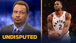 Chris Broussard praises Kawhi and Raptors' bench in Game 4 win against the Bucks | NBA | UNDISPUTED
