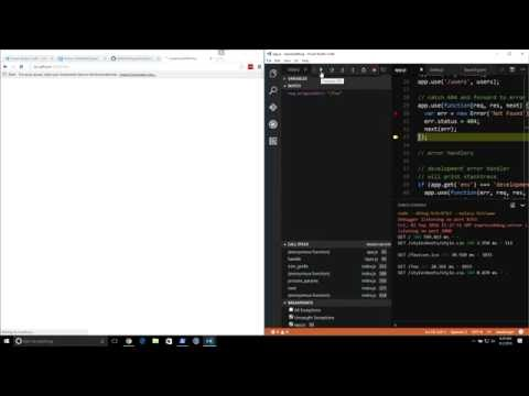 Debugging Node.js With Visual Studio Code Mp3