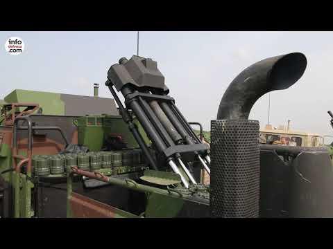 Así opera el mortero embarcado Dual Eimos de Expal