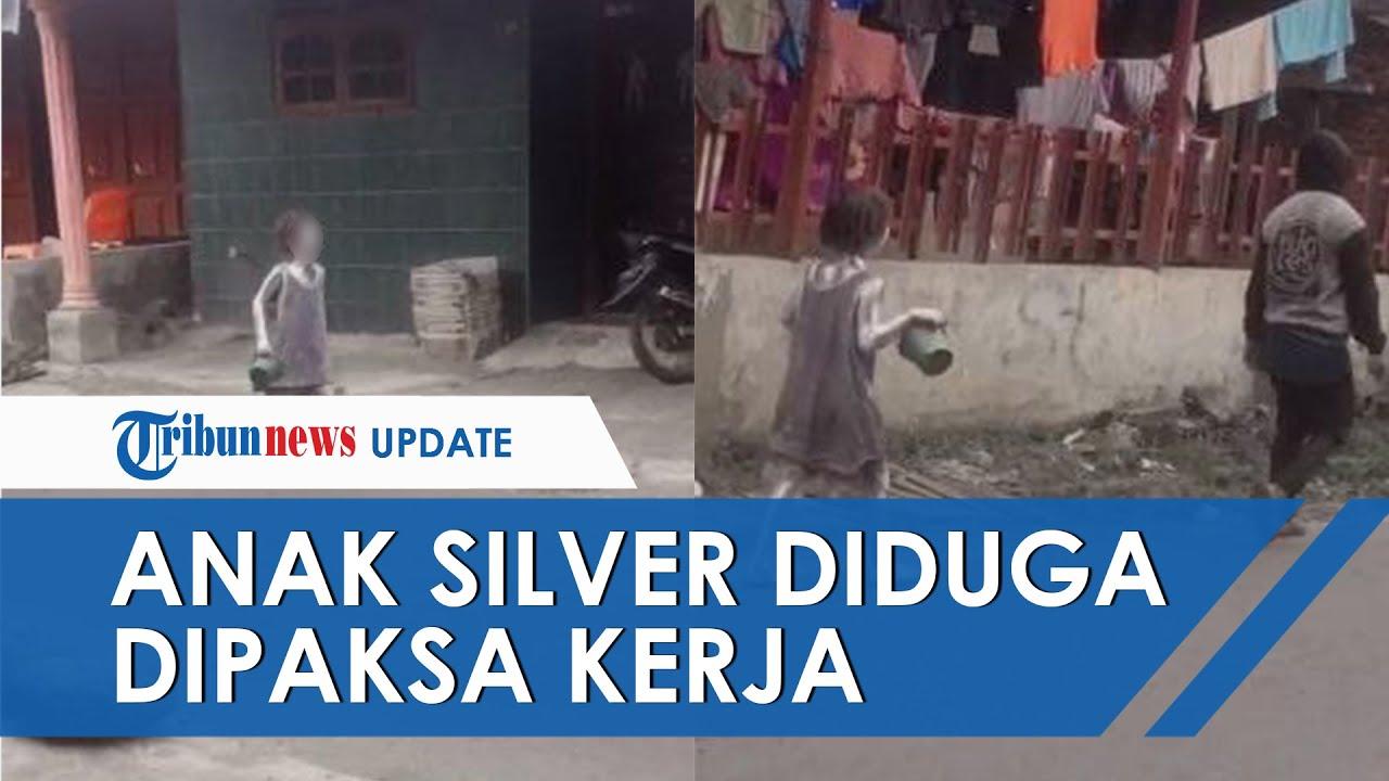 VIRAL Video Bocah Silver Menangis di Pinggir Jalan, Diduga Dipaksa Kerja oleh Ayahnya