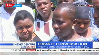 Kilifi woman wants to sponsor a private bill that will protect private conversations