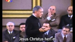 A Eucaristia: Senhor, creio firmemente que estás aqui realmente presente