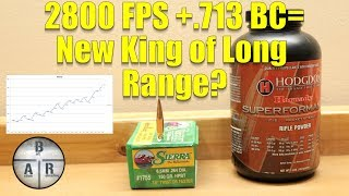 Sierra Match King 150 gr with Hodgdon Superformance in 6.5 Creedmoor