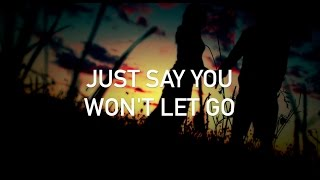 James Arthur - Say You Won't Let Go (Boyce Avenue acoustic cover, with lyrics)