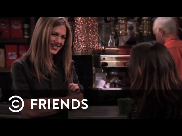 Rachel Punches Joey's Girlfriend (Soleil Moon Frye) | Friends