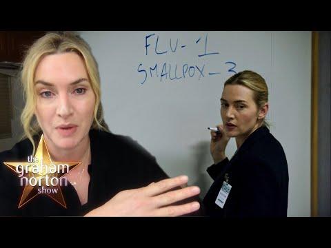 Kate Winslet a Stanley Tucci o lockdownu, jídle a plešatění - The Graham Norton Show