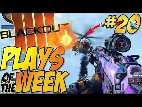 Call of Duty: Black Ops 4 - BLACKOUT Kills Of The Week #20 (BO4 Blackout Plays & Moments Montage)