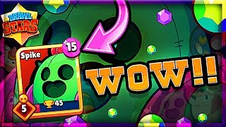 We Got a LEGENDARY in BRAWL STARS! • SPIKE Gameplay!