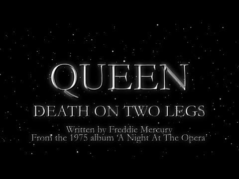 Queen - Death on Two Legs (Official Lyric Video)
