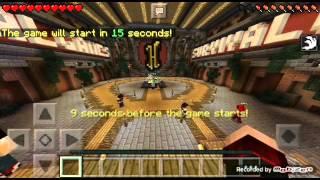 Minecraft pe (Survival Games) #3-LAG &BUG!!