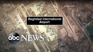 Leader of Iran's elite Quds Force killed in airstrike near Baghdad airport
