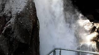 Wassserfall Bérard Le Buet Vallorcine Mont Blanc Frankreich