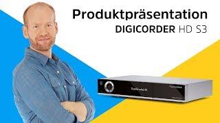 DIGICORDER HD S3 | Produktpräsentation | TechniSat