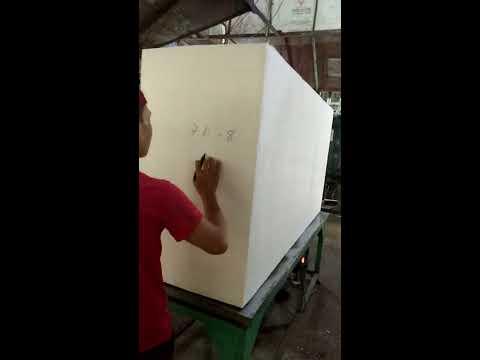 Sản xuất xốp thùng