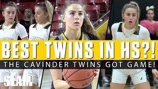 Best Twins in HS Hoops?! 🔥 The Cavinder Twins Got Game! 🤯