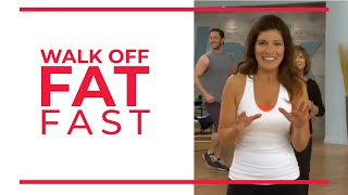 Walk Off Fat Fast 20 Minute | Fat Burning Workout