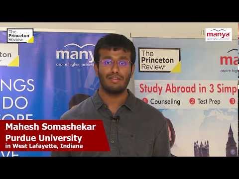 Testimonial Video by a Student of Manya-The Princeton Review