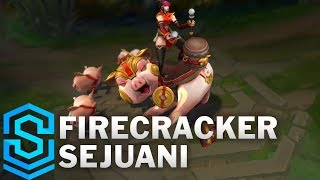Firecracker Sejuani Skin Spotlight - Pre-Release - League of Legends