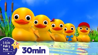 Counting Duck Song +More Nursery Rhymes and Kids Songs | Little Baby Bum