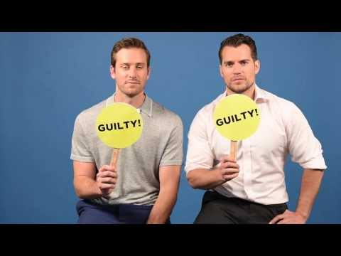 "Henry Cavill & Armie Hammer Play A Game Of ""Never Have I Ever"""