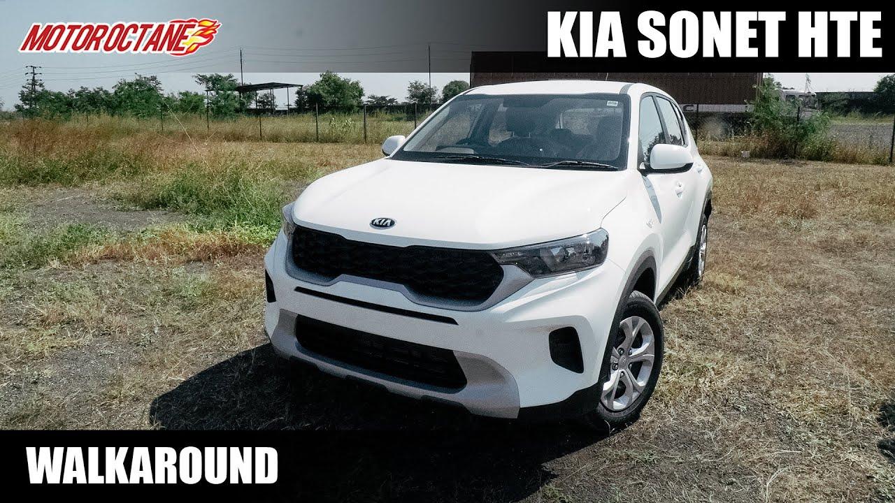 Motoroctane Youtube Video - Kia Sonet HTE - Base Model - Rs 7.8 lakhs (on-road)