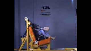 preview picture of video 'Warning!  Dangerous sleeping position in Group 2 seat!'