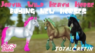 JORVIK WILD HEAVY HORSES BUYING NEW HORSES 7 Star Stable