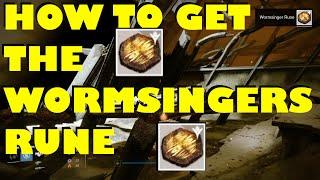 "Destiny - How To Get A ""WORMSINGER RUNE"""