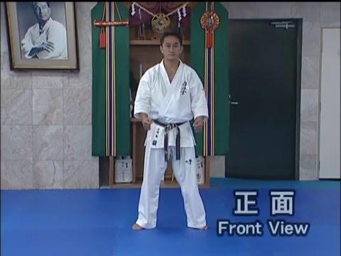 Tekki sono ichi. (kata) Kyokushin karate