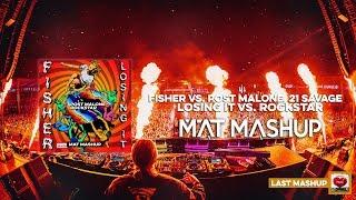Post Malone, Fisher   Rockstar Vs. Losing It (MAT Mashup)