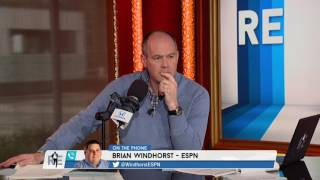 ESPN NBA Reporter Brian Windhorst on Carmelo Anthony Update - 2/21/17