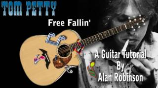 Free Fallin' - Tom Petty - Acoustic Guitar Lesson (easy)