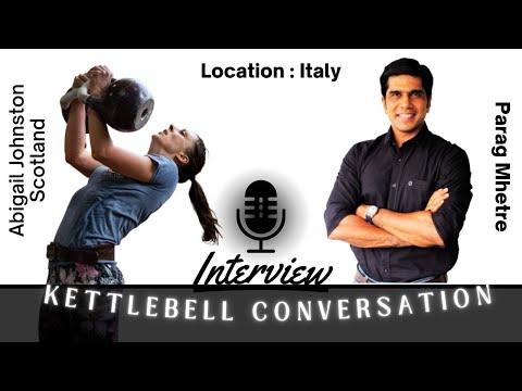 Interview on Kettlebell Sport I Abigail Johnston by Parag at World Championships Italy 2018 I EKFA