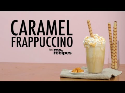 How to Make a Copycat Caramel Frappuccino